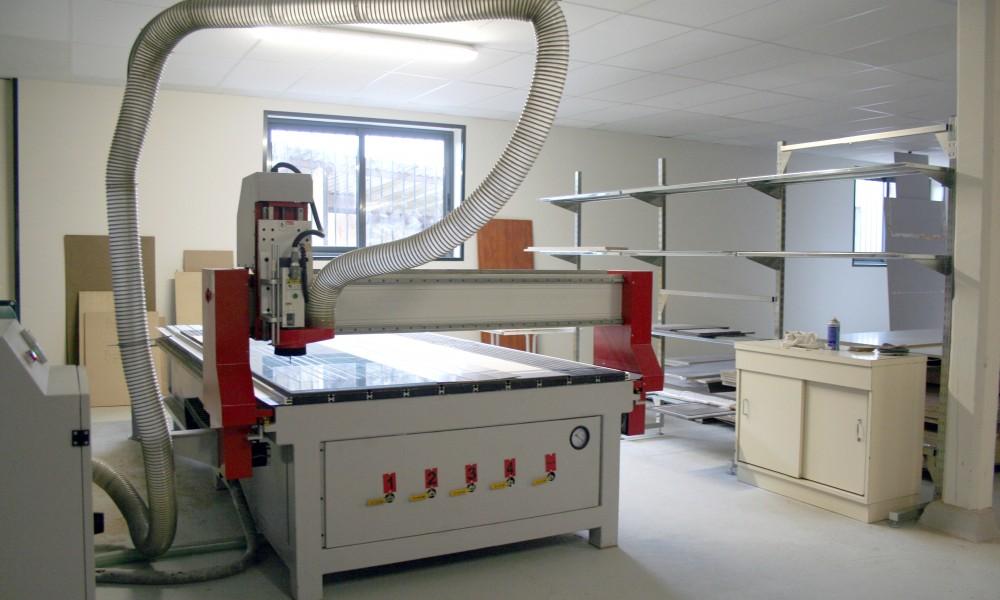 Machine de découpe CNC